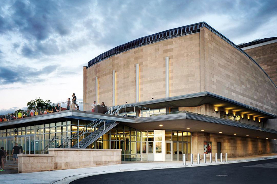 Exterior shot of Wisconsin Union Theater at Memorial Union